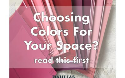 Choosing Colors for your home? Read this first.