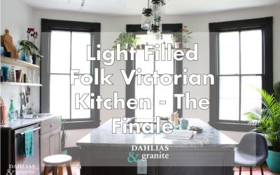 Light Filled Folk Victorian Kitchen – Finale
