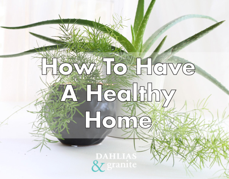 How To Have A Healthy Home