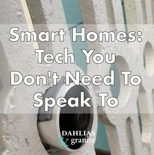 Smart homes: Tech You Don't Need To Speak To
