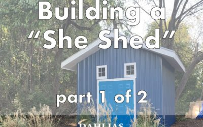 """Building a """"She Shed"""" Part 1 of 2"""